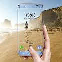 Transparent phone. Livecam Wallpaper icon