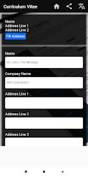 Curriculum Vitae App Cv Builder Resume Cv Maker 6 5 Seedroid