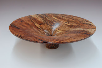 "Photo: Phil Brown - Bowl - spalted red maple - 15"" x 4"""