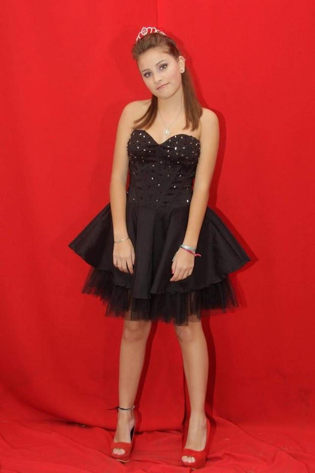 vestidos de 15 negro corto