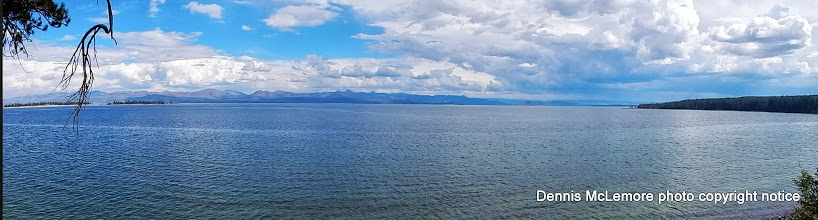 Photo: Wideview of Yellowstone Lake