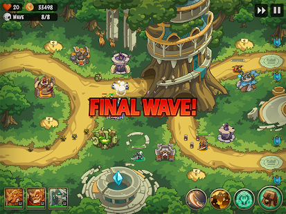 Empire Warriors Premium: Tower Defense Games Screenshot