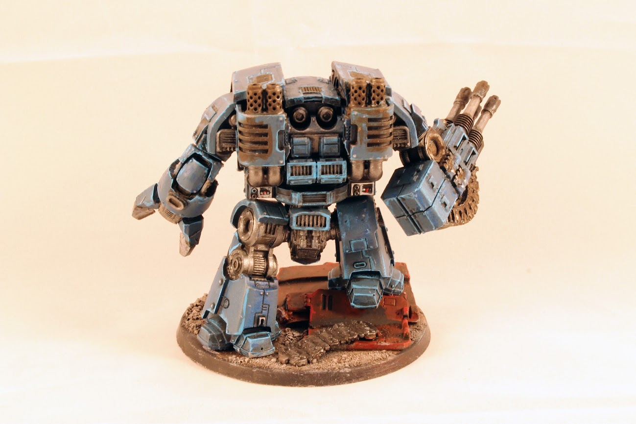 Leviathan Dreadnought, rear view