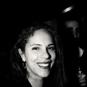 Marta by João Pedro Ferreira Simões - Black & White Portraits & People ( club, bar, close up, portrait, close,  )