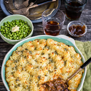 Cottage pie with Stilton Mash
