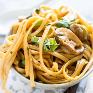 Sweet and Spicy Asian Noodles.
