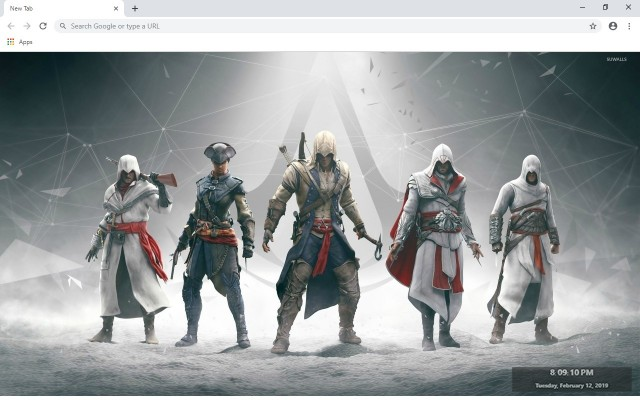 Assassin's Creed New Tab