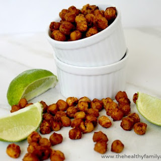 Roasted Chickpeas with Chipotle and Lime (Vegan, Gluten-Free)