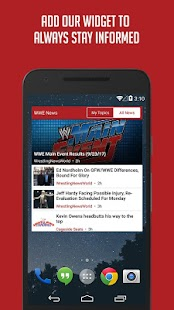Sportfusion - WWE News Edition- screenshot thumbnail