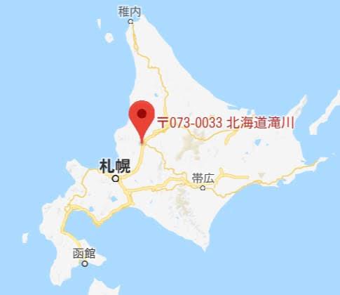 地図:美容室 eN(エン)