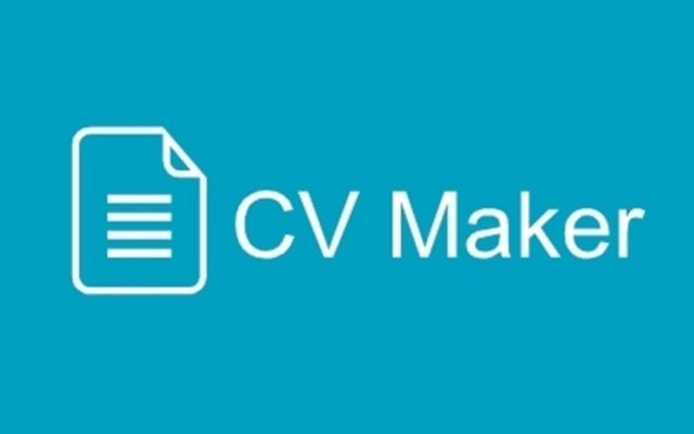 CV Maker Free Chrome Web Store