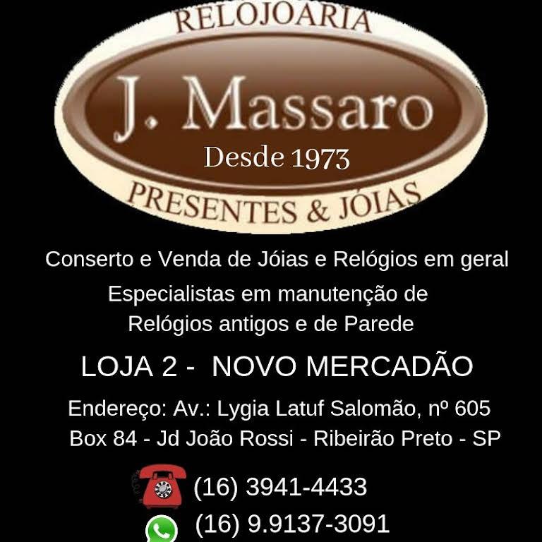 3292c90f19b J. Massaro (novo mercadão) - Relojoaria em Jardim João Rossi