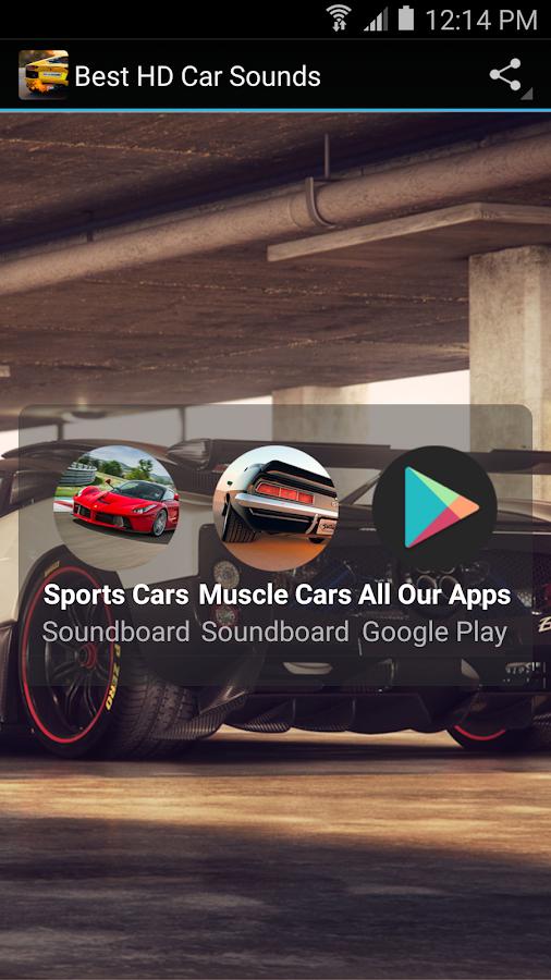 Best Car Exhaust Sound Ringtone