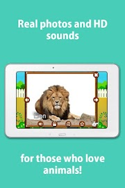 Kids Zoo,Animal Sounds & Photo Screenshot 3