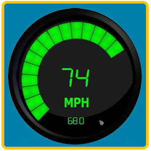 Cool Digital Speedometer
