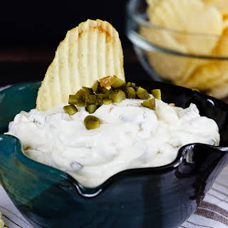Gherkin and Caramelized Onion Dip.