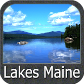 Maine Lakes Gps Map Navigator