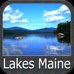 Maine Lakes Gps Map Navigator