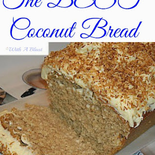Coconut Bread with Cream Cheese Frosting Recipe