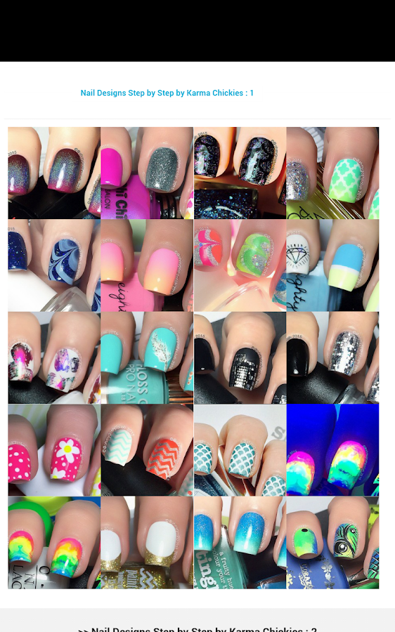 Nail Designs Step by Step - Android Apps on Google Play