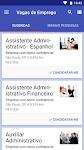 screenshot of InfoJobs - Vagas de emprego, salários e avaliações