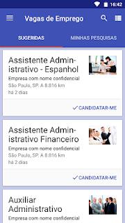 Vagas de empregos screenshot 01