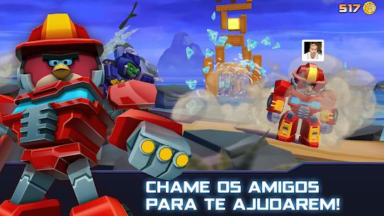 Angry Birds Transformers Apk Mod Dinheiro Infinito 8