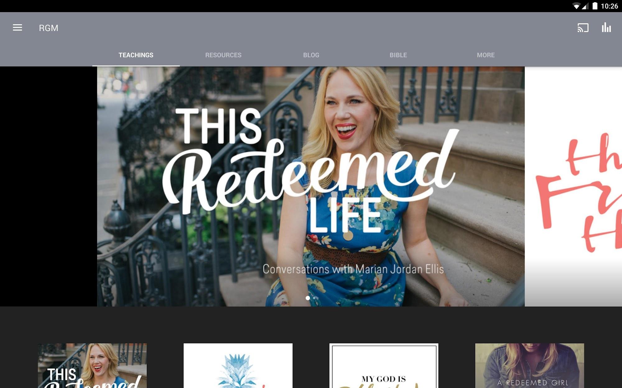 Redeemed Girl Ministries screenshot #4