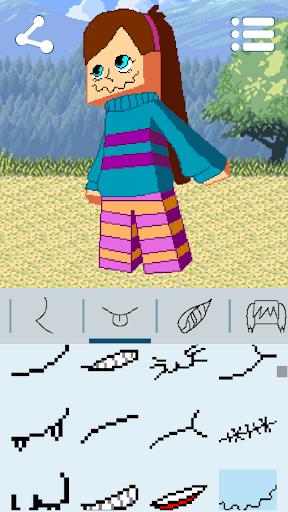 Avatar Maker: Cube Games 3.3.3 screenshots 14
