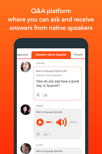 HiNative - Q&A App for Language Learning 6.22.2 screenshots 2