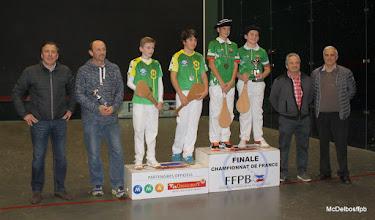 Photo: podium Benjamins La Nautique 40 U.S Larrendart 33