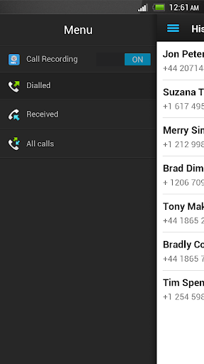 Automatic Call Recorder screenshot 2