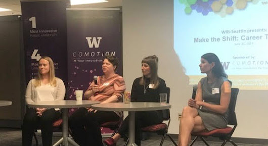 "WIB-Seattle: ""Make the Shift: Career Transitions,"" June 21, 2018"