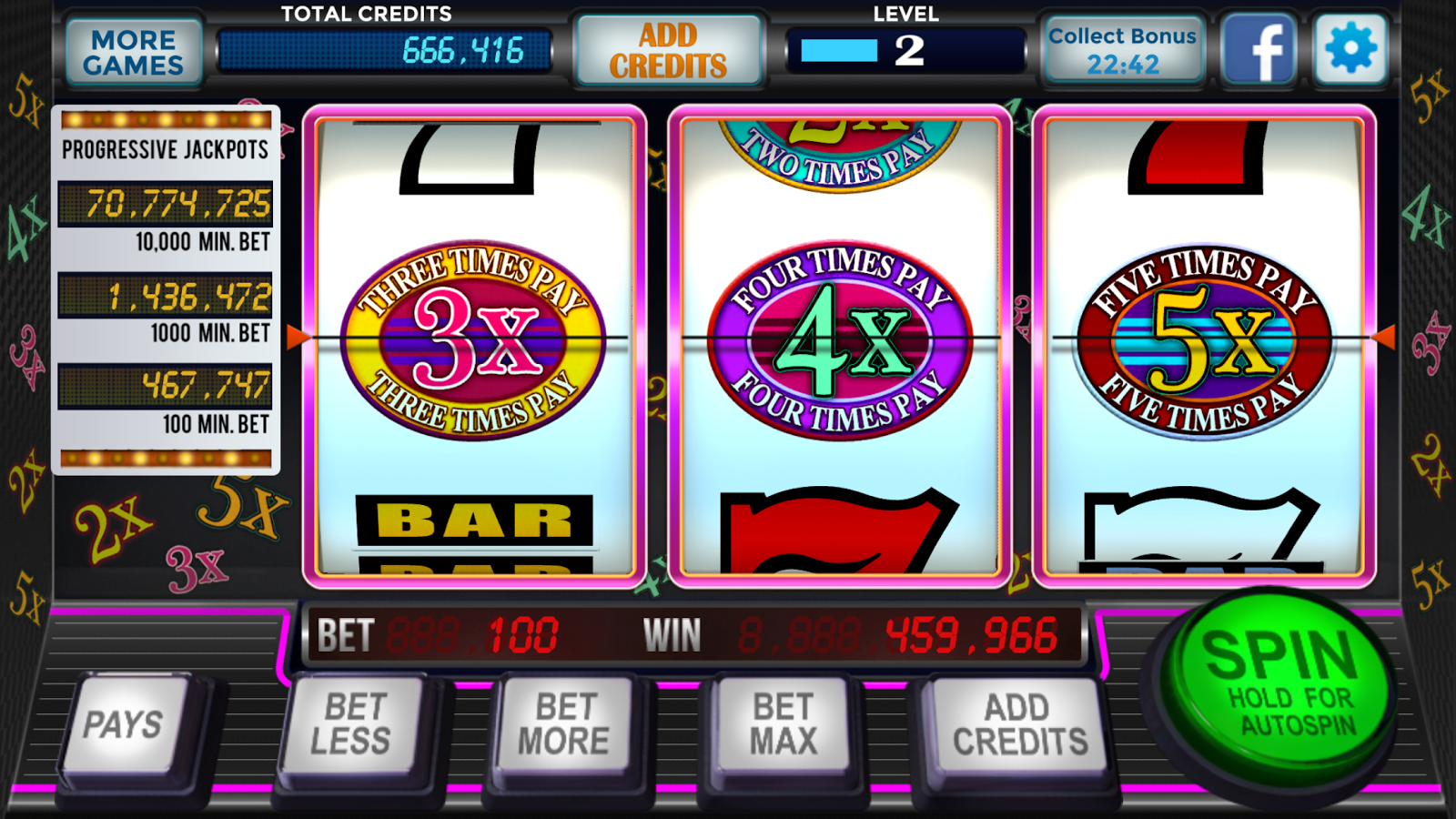 free casino slot games with bonuses
