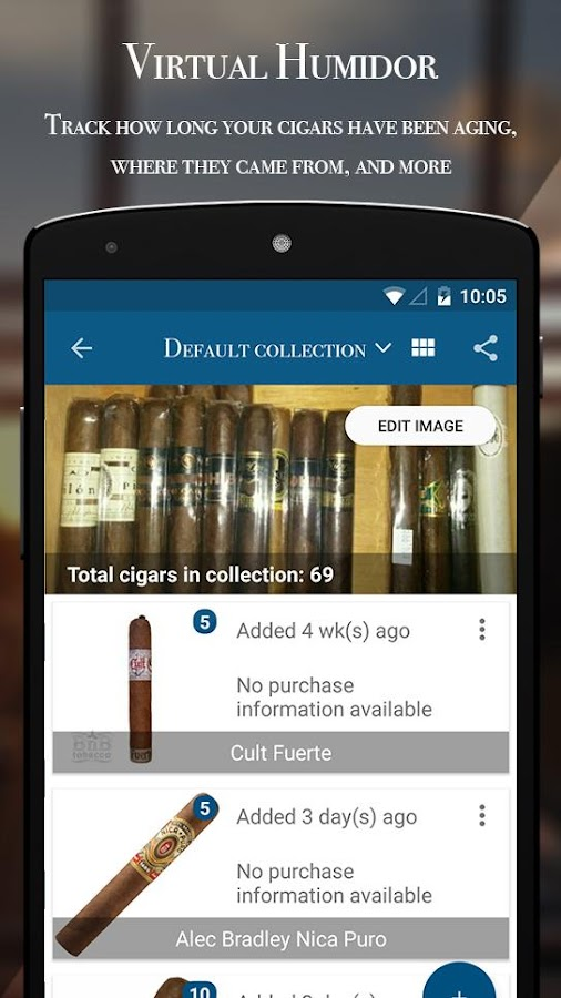 Sigaro - Cigar Discovery- screenshot