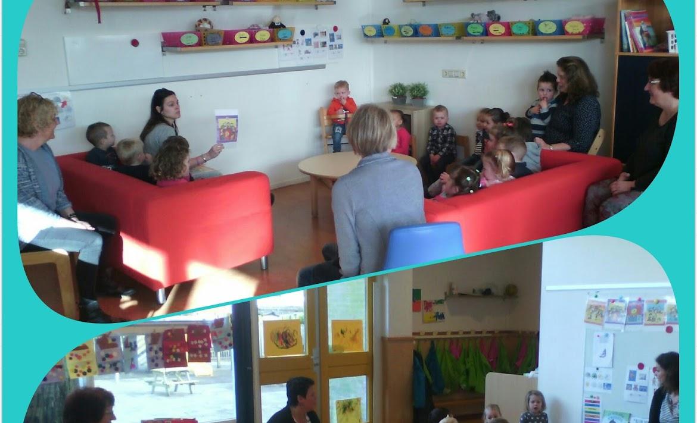 Bezoek van het Waterschip op onze voorschoolgroepen