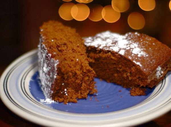 Holiday Gingerbread Recipe