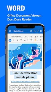 Word Office Editor Document Viewer and Editor PRO v1.0.5 APK 2