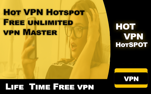 Hot VPN Hotspot -Free unlimited vpn Master 5