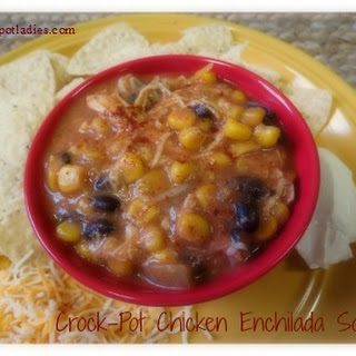 Crock-Pot Chicken Enchilada Soup.