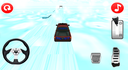 Iceberg Hill Climb Racing 3D