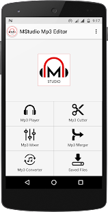 Mstudio: Mp3 Player,Cutter,Merger,Mixer,Converter - náhled