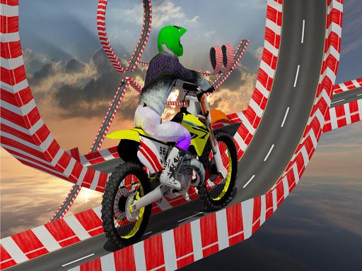 Stunt Bike Impossible Tracks-Race Moto Drive Game image | 10