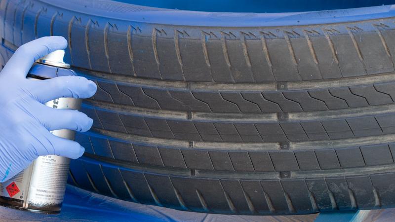 Pinta el neumático