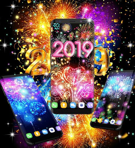 Happy new year 2020 live wallpaper 13.8 screenshots 3