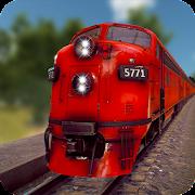 قطار سائق برو 2018 3D - القطار سباق محاكي APK