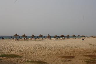 Photo: Längs den större stranden fann man dom flesta hotellen.