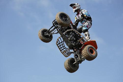 jump with motor by Dominik Konjedic - Sports & Fitness Motorsports