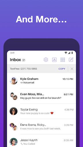 Text Free: Free Text Plus Call 8.74.1 Screenshots 5