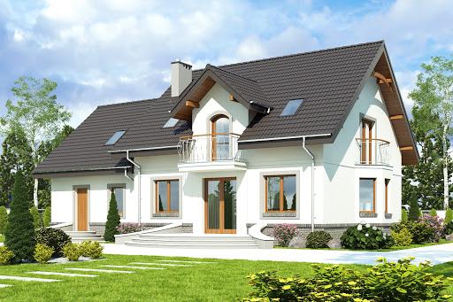 projekt Dom Dla Ciebie 3 z garażem 2-st. A3